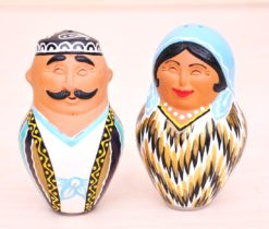 Uzbek Happy Spouse Ceramic Souvenir