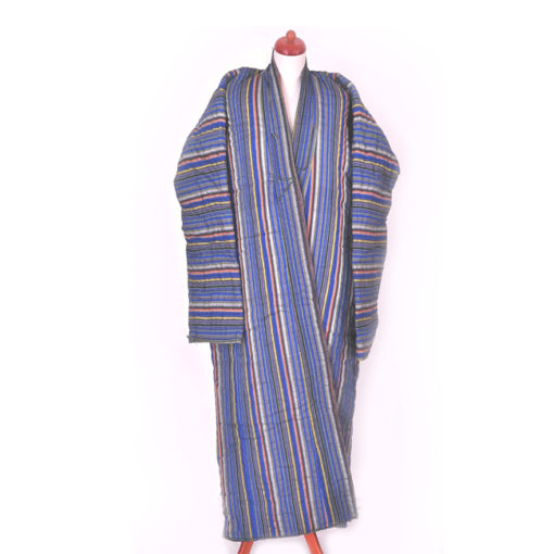 Traditional Uzbek Ikat Robe