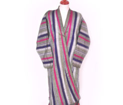 Ikat Fabric Robe