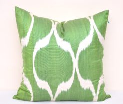 Olive Green Throw Decorative Pillow