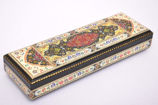 Ornamental Wooden Lacquer Jewellery Box