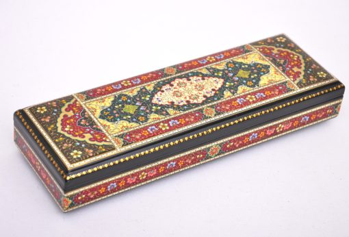 Handcrafted Wooden Lacquer Accessory Box