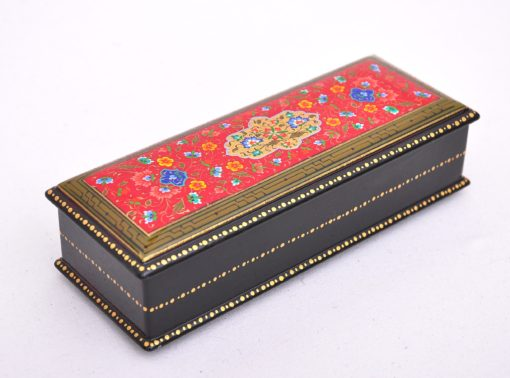 Red Wooden Lacquer Jewellery Box