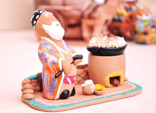 Handmade Ceramic Pottery Kindest Chef