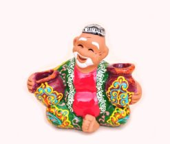 Handcrafted Ceramic Figure Rich Man