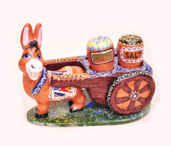 Salt Pepper Shaker Set Funny Donkey Figure