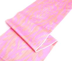 Pink Ikat Fabric Outdoor / Indoor Upholstery