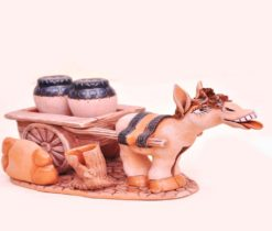 Salt Pepper Shaker Set Funny Donkey Ceramic