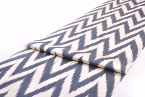 Chevron Designer Ikat Fabric Cloth