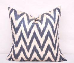 Chevron Ikat Accent Pillow Case