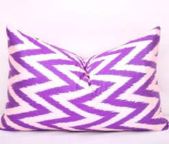 Chevron Lumbar Accent Pillow
