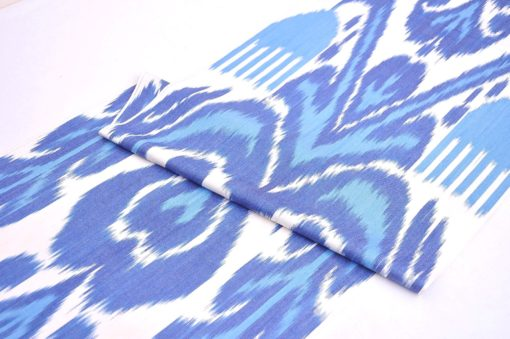 Blue Quilting Cotton Fabric By The Yard