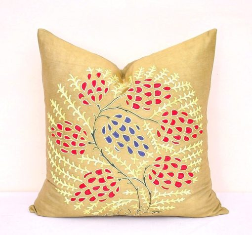 Decorative Suzani Cushion Cover