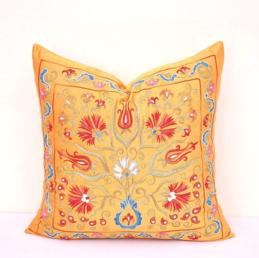 Lux Cozy Living Room Throw Pillow Handmade
