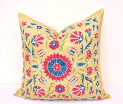 Bohemian Throw Suzani Pillow
