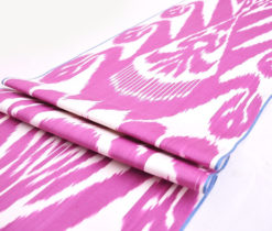 Cotton Ikat Adras Fabric