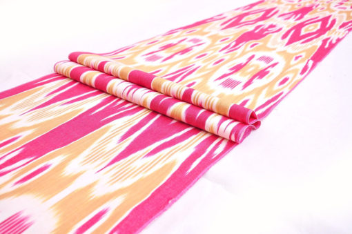 Beautiful Ikat Fabric Pattern