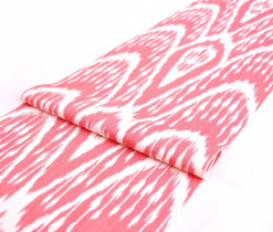 Red Diamond Cotton Batik Fabric