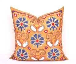 Sale Embroidered Suzani Pillow Cover