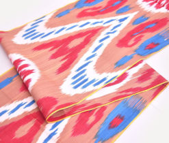 Multicolor Ikat Fabric Sale Directly Handwoven