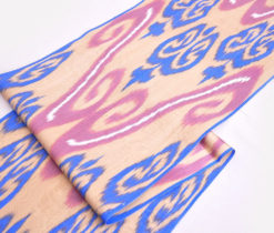 Ikkat Handmade Turkish Fabric