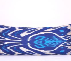 Blue Extra Long Decorative Pillow Cover