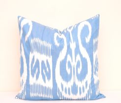 Seasonal Home Accent Blue Throw Pillow, Seasonal Home Decor Blue Throw Pillow
