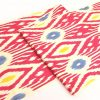 Ikat Geo Organic Cotton Fabric