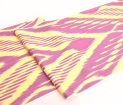 Ikkat Throw Handwoven Cotton Fabric