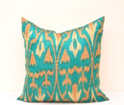 Darkcyan Decorative Home Accent Pillow, Green Decorative Home Accent Pillow