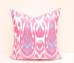 Accent Pillow 100% Ikat Cotton