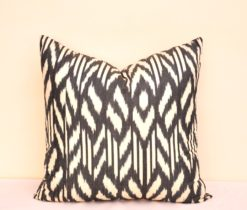 Black Decorative Accent Pillow