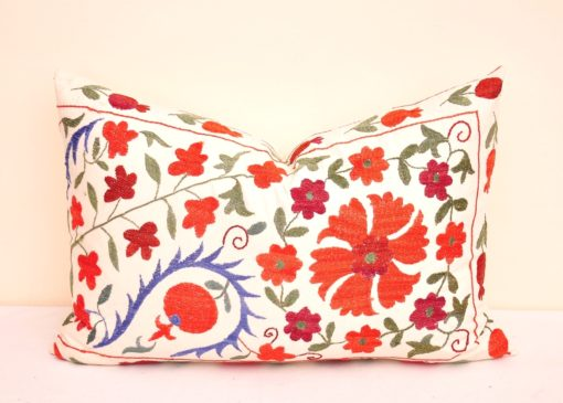 Floral Suzani Pillow Case