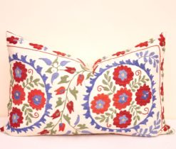 Lumbar Accent Suzani Pillow