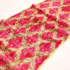 Punchy Pink Silk Velvet Fabric Sale