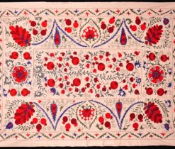 Silk Hand Stitched Embroidery Pattern