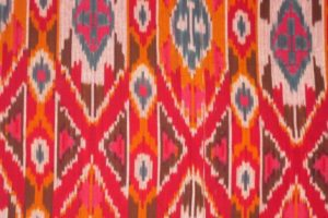 Historical view on ikat creation