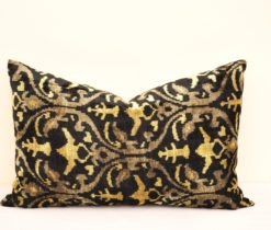 Interior Design Throw Ikat Pillows