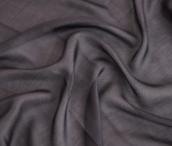 Black Margilan Butterfly Silk Gauze Fabric