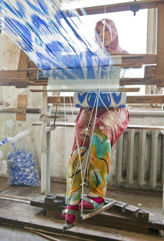 How ikat is made
