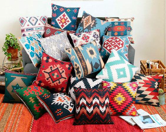 Ikat Pillow Pillowcases