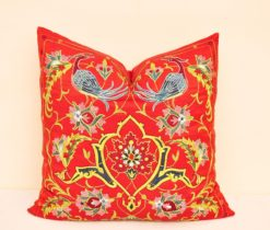 Hand Embroidered Soumak Pillow