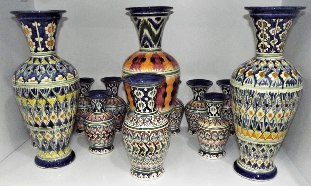 Beautiful ceramic jugs