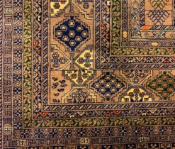 Afghan Hand Made Square Rug
