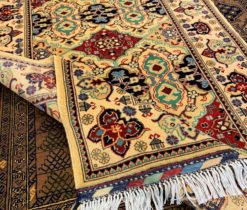 Turkish Vintage Hand Made Rug