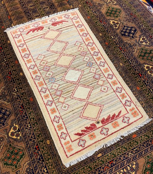 Floral Hand Made Wool Rug