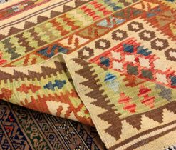 Hand made Light Afghan Rug