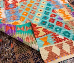 Bukhara Hand Made Colorful Rug