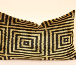 Square Shaped Ikat Pillow