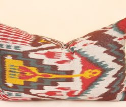Boho Ikat Lumbar Pillows